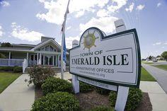 Emerald Isle NC on North Carolina's Southern Outer Banks