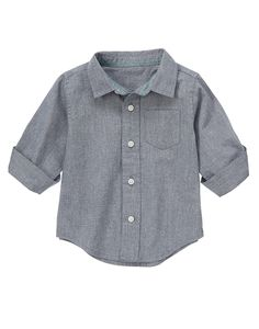 Chambray Shirt at Gymboree Collection Name: First Play Date (2015)