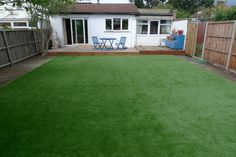 Artificial grass as a surface is becoming more and more popular according to various surveys. One conducted by a garden furniture manufacturer in the UK found that as many as one in four households don't have real grass in the front or back garden with around one in ten having at least some artificial grass somewhere.