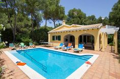 Villa Honeysuckle, Son Parc, Menorca, Spain. Find more at www.villaplus.com