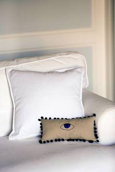 Evil Eye Pillow Evil Eye Decor Evil Eye Home Decor Mini