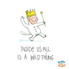 Today's Buddha Doodle - the wild side...Inside us all is a wild thing!