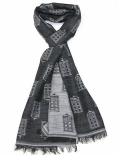 These TARDIS Scarves Are Stylish And Subtle