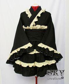 Benutzerdefinierte klassische Waloli Kimono Kleid von skycreation