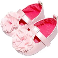 Child of Mine by Carter's Newborn Baby Girl Sparkle T-Strap Mary Jane Shoes