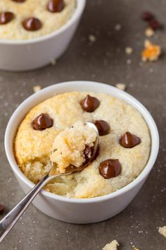 Healthy 1 Minute LOW CARB Vanilla Mug Cake- Light, fluffy and moist in the…