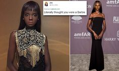 Nyadak Thot, who rose to fame on Australia's Next Top Model, shared a photo of herself on Twitter last week. The 21-year-old, who goes by Duckie, caused several Twitter users to do a double take.
