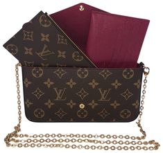 Get the trendiest Cross Body Bag of the season! The Louis Vuitton Pochette Felicie Monogram Coated Canvas Cross Body Bag is a top 10 member favorite on Tradesy. Louis Vuitton Handbags Prices, Louis Vuitton Monogram, Crossbody Bag, Canvas, Coat, Pattern, Accessories, Design, Tela