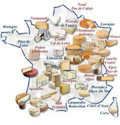 les fromages de France!
