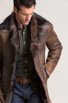 Mens Fashion – Designer Fashion Tips Trendy Outfits, Cool Outfits, Fashion Outfits, Cheap Fashion, Fall Fashion, Womens Fashion, Kleidung Design, Sheepskin Coat, Herren Outfit