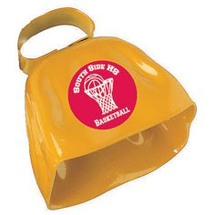 Yellow Victory Cow Bells