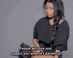 When she spoke the cold, hard truth. | 19 Times Nicki Minaj Was Right About Everything Ever