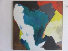 Large Abstract By Bernard Samilow Mid-Century Modern Acrylic Painting on Canvas 1972. by FLORIDAMODERN on Etsy