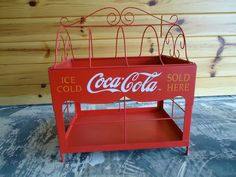 Unique Coca-Cola Display Rack  I so want this