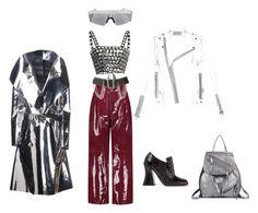 Без названия #12 by mpimchenkova on Polyvore featuring мода, HUISHAN ZHANG, Wanda Nylon, Valentino, Marc Jacobs and Burberry