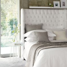 The White Company, lovely headboard