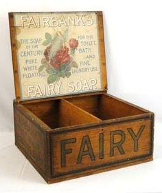 wooden fairy box