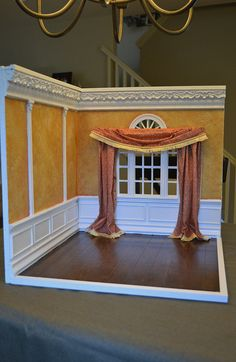 1:6 Scale Corner Room Box | Flickr - Photo Sharing!