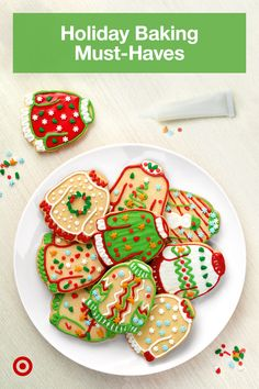 Make homemade Christmas gifts like cookies & cakes for the holidays with fun party ideas and all the baking essentials you need. Christmas Deserts, Holiday Desserts, Holiday Baking, Christmas Baking, Holiday Treats, Holiday Recipes, Homemade Christmas, Christmas Gifts, Christmas Candy