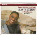 "Jessye Norman, ""Lieder,"" album cover, 1988"