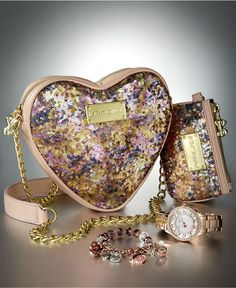 Betsey Johnson The Time to Shine Gift Set - Handbags & Accessories - Macy's