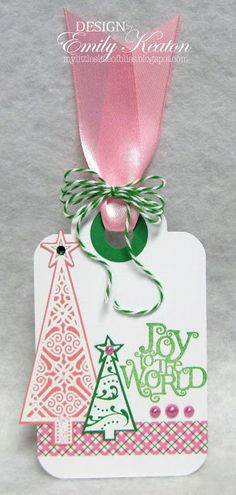 My Little Slice of Bliss: Joy to the World  Stampin' Up!