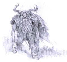 Pencil Work - Fantasy Environments and Characters. by Larry MacDougall at Coroflot.com