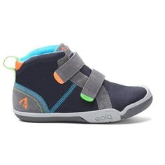 Boys Casual Shoes - Plae Max (Kids Shoes) Steel/Navy
