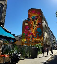 Street art Paris 19eme