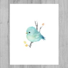 Hey, I found this really awesome Etsy listing at https://www.etsy.com/listing/246330133/bird-prints-baby-bird-art-baby-bluebird