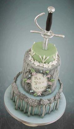 Princess bride cake!