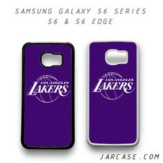 purple lakers Phone case for samsung galaxy S6 & S6 EDGE