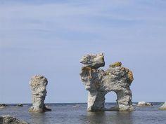 Limestone rauks on Gotland Norway Sweden Finland, Sweden Europe, Sweden Travel, Denmark, Royal Caribbean Cruise, Beach Trip, Beach Travel, Stockholm Sweden, India