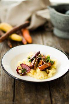 Buch Rezension - Krautkopf - Ofengemüse mit Apfel-Kartoffel-Stampf von den [Foodistas]