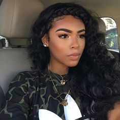 Love this look @blessingiraldo ✨❤️ Hair and makeup @voiceofhair #voiceofhair voiceofhair.com
