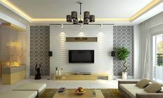 Home Design Drawings 40 Contemporary Living Room Interior Designs - Looking for living room design ideas? Here's a big showcase designs of amazing contemporary living room interior that are complemented with beautiful Living Room Tv, Living Room Modern, Interior Design Living Room, Living Room Designs, Small Living, Design Room, Bedroom Modern, Bedroom Decor, Cozy Living