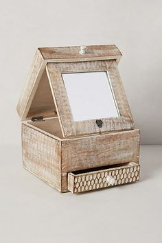 Folding Mirror Jewelry Box #anthrofave