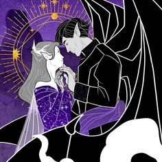 A Court Of Wings And Ruin, A Court Of Mist And Fury, Sarah J Maas, Feyre And Rhysand, Fantasy Couples, Silver Mist, Fanart, Crescent City, Throne Of Glass