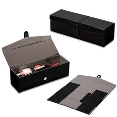 Hand made folding wine box packaging factory China