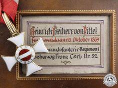 Christoph Freiherr (Baron) von Pittel & Heinrich Freiherr (Baron) von Pittel - Father AND Son