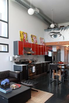 Celeste Nicolais Modern Art Loft House Tour