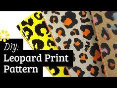 DIY Leopard Print Pattern: How to Draw (Tutorial)