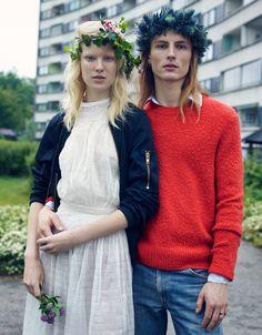 Linn Arvidsson and Viggo Johansson