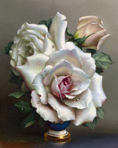 Три розы. Композиция 2 / Ирэн Клестова - Irene Klestova
