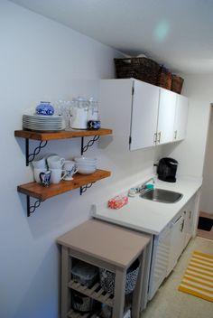 Rental Kitchen Storage