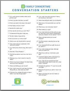 Table Topics Ideas Funny table topic tip Lots Of Good Questions Most Mothers Agree That The Standard How Was Your