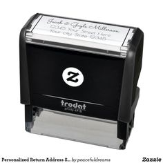Personalized Return Address Self Ink Stamp