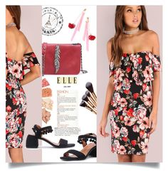 """""""Floral Dress"""" by mahafromkailash ❤ liked on Polyvore"""