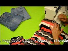 Varrótanfolyam: Rugalmas anyagok varrása Watch V, Youtube, Upcycle, Sewing, Farmer, Tutorials, Scrappy Quilts, Dressmaking, Upcycling