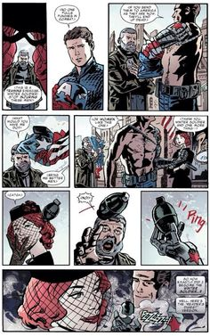 Natasha and Bucky comic strip pt. 2